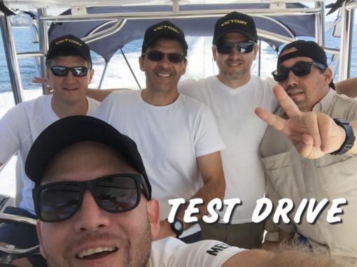 Test Drive da Lancha Victory 305 no RJ